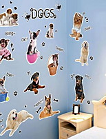 Animals Wall Stickers Plane Wall Stickers Decorative Wall StickersVinyl Material Home Decoration Wall Decal Pet Hospital Beauty Shop