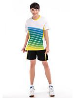 Conjuntos de Roupas/Ternos(Branco Vermelho Azul) -Homens-Confortável-Badminton