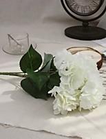 1 Ramo Poliéster Plástico Azaléia Flor de Mesa Flores artificiais 31