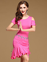 Shall We Belly Dance Dresses Women Training Cotton Modal Ruffles Sexy 2 Pieces Dance Costumes