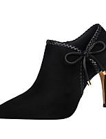 Femme-Bureau & Travail Habillé Soirée & Evénement-Gris Rouge Rose Kaki Bourgogne-Talon Aiguille-Confort club de Chaussures-Bottes-Laine
