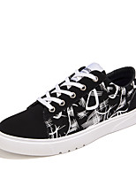 Men's Sneakers Spring Summer Fall Winter Comfort Fabric Outdoor Athletic Casual Lace-up