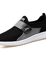 Men's Sneakers Spring Summer Fall Winter Comfort Microfibre PU Outdoor Office & Career Casual Athletic