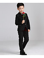 Boys' Going out Casual/Daily Formal Geometric Sets,Cotton Summer Spring Fall Clothing Set