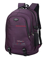 35 L Backpack Hiking & Backpacking Pack Multifunctional Gray Black Purple