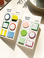 1 PCS Cute Self-Stick Notes Set
