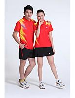 Conjuntos de Roupas/Ternos(Amarelo Branco Vermelho Azul) -Unissexo-Respirável Confortável-Badminton