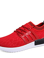 Men's Sneakers Spring Summer Fall Winter Comfort Tulle Outdoor Athletic Casual Flat Heel Gore Running