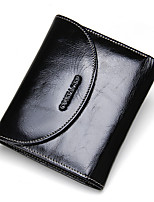 Unisex Cowhide Formal Casual Office & Career Shopping Wallet All Seasons