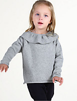 Casual/Daily Solid Sweater & Cardigan,Cotton Winter Spring Fall Long Sleeve