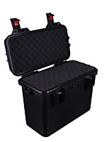 29 L Waterproof Dust Proof Wearable Hardshell Multifunctional Shockproof Black