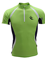 Kurze Ärmel Laufen T-shirt Sweatshirt Trainingsanzug Trikot + Latzhosen/Radtrikot+Kurze Radhose Mit Trägern OberteileAtmungsaktiv