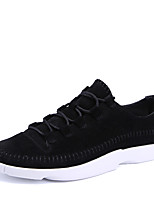 Men's Athletic Shoes Comfort Light Soles Tulle Sneakers Casual Flat Heel Running Shoes