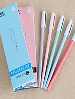 Gel Pen Pen Gel Pens Pen,Plastic Barrel Black Blue Ink Colors For School Supplies Office Supplies Pack of