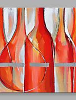 Ручная роспись Абстракция Квадратная,Modern 1 панель Холст Hang-роспись маслом For Украшение дома