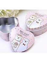 12 Piece/Set Favor Holder-Heart-shaped Iron(nickel plated) Favor Boxes Candy Jars and Bottles Gift Boxes Non-personalised