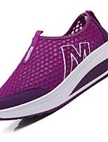 Women's Sneakers Summer Comfort Light Soles Tulle Casual Wedge Heel Running