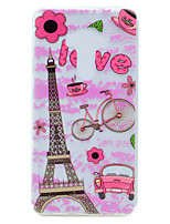 For Asus ZenFone 3 (ZE552KL)(5.5) ZE520KL(5.2) Eiffel Tower Pattern Soft TPU Material Phone Case
