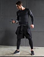 Homme Course / Running Cuissard  / Short Pantalon/Surpantalon Hauts/Tops Ensemble de Vêtements/TenusRespirable Séchage rapide Extensible