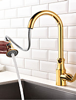Pull-out/Pull-down Kitchen Faucet  Standard Spout Centerset Thermostatic Rain Shower Pullout Spraywith Kitchen Sink Mixer Tap