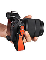 Digital Camera Strap For Universal One-Shoulder  Waterproof Black Orange