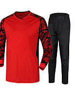 Women's Men's Soccer Tracksuit Spring Fall/Autumn Winter Polyester Racing Leisure Sports Running Orange Yellow Red Green Blue