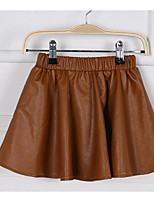 Girls' Going out Casual/Daily Solid Skirt Summer Spring Fall