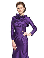 Women's Wrap Shrugs Taffeta Wedding