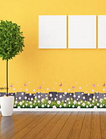 Florales Pegatinas de pared Calcomanías de Aviones para Pared Calcomanías Decorativas de Pared,Vinilo Material Decoración hogareñaVinilos