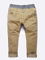 Pantalons Garçon Décontracté / Quotidien Couleur Pleine Hiver Automne
