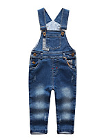 Girls' Going out Casual/Daily Solid Overall & Jumpsuit Spring