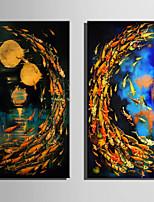 Paisagem Animal Moderno,1 Painel Tela Vertical Impressão artística Decoração de Parede For Decoração para casa