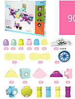 Girl Boy Magnet Magnetism Assembled Early Education Puzzle Children Toy 90
