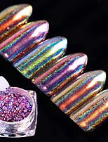 6box Nagel-Kunst-Dekoration Strassperlen Make-up kosmetische Nagelkunst Design