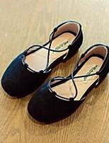 Girls' Flats Comfort Suede Casual Flat Heel
