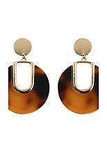 Fashion Women  U-shaped  Acrylic Drop Earrings