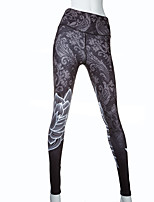 Pantalon de yoga Collants Respirable Elastique Doux Confortable Haut Extensible Vêtements de sport Femme Yoga