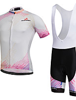 AOZHIDIAN Summer Cycling Jersey Short Sleeves BIB Shorts Ropa Ciclismo Cycling Clothing Suits #AZD154