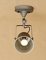 Lampe suspendue ,  Rétro Rustique Peintures Fonctionnalité for LED Style mini Designers MétalChambre à coucher Salle à manger
