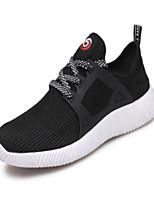 Черный Серый Красный-Для мужчин-Для прогулок Повседневный Для занятий спортом-Тюль-На плоской подошве-Удобная обувь Светодиодные подошвы-