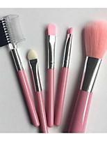 5 Conjuntos de pincel Pêlo Sintético Profissional Plástico Rosto Olhos Lábios