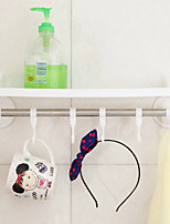 Strong Chuck Bathroom Shelf Pole Hook Non-trace Towel Rack Corner To Receive The Rack Color Random