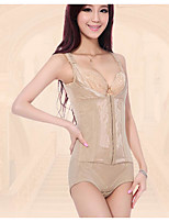 Women's Underbust Corset Nightwear,Lace Solid-Thin Spandex Women's