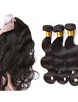 One Pack Solution Peruvian Texture Body Wave 12 Months 4 Pieces hair weaves