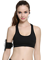 Women's Sleeveless Running Tops Breathable Comfortable Sports Wear Running Nylon Tactel Tight Classic Solid