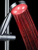 Contemporâneo Ducha de Mão Cromado Característica for  LED Efeito Chuva Ecológico , Lavar a cabeça