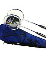 Badmintonschläger Stabilität Ferrolegierung Ein Paar × 2 für Draußen Leistung Training Legere Sport
