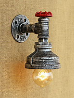 AC 110-130 AC 220-240 40 E26/E27 Country Retro Painting Feature for Bulb Included,Ambient Light Wall Sconces Wall Light