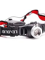 Stirnlampen LED Lumen Modus AAA Einfach zu tragen Camping / Wandern / Erkundungen Für den täglichen Einsatz Natur Aluminium Legierung