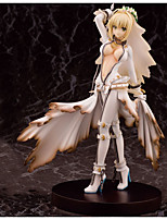 Anime Action Figures Inspired by Fate/stay night Saber Lily PVC 22 CM Model Toys Doll Toy